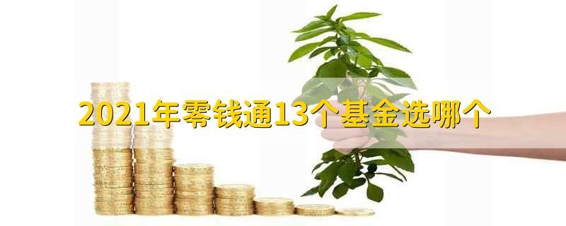 2021年零钱通13个基金选哪个 2021年零钱通哪个基金好